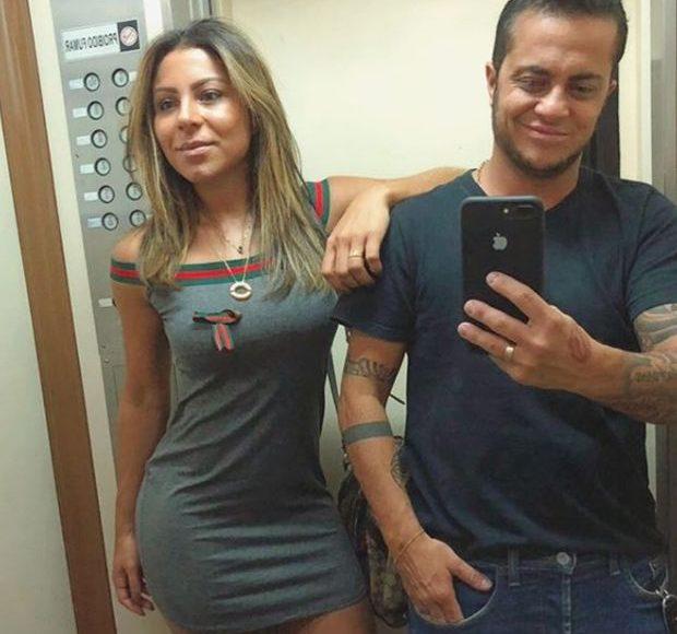 Namorada de Thammy Miranda pede que internautas respeitem seu homem