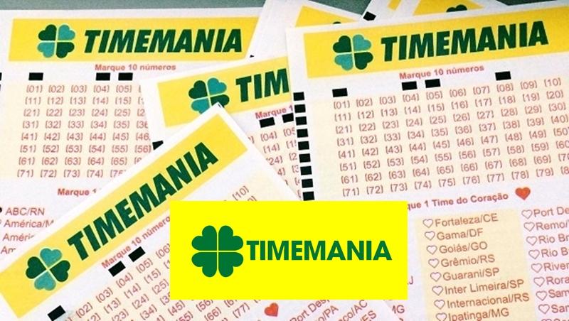Resultado da Timemania de hoje
