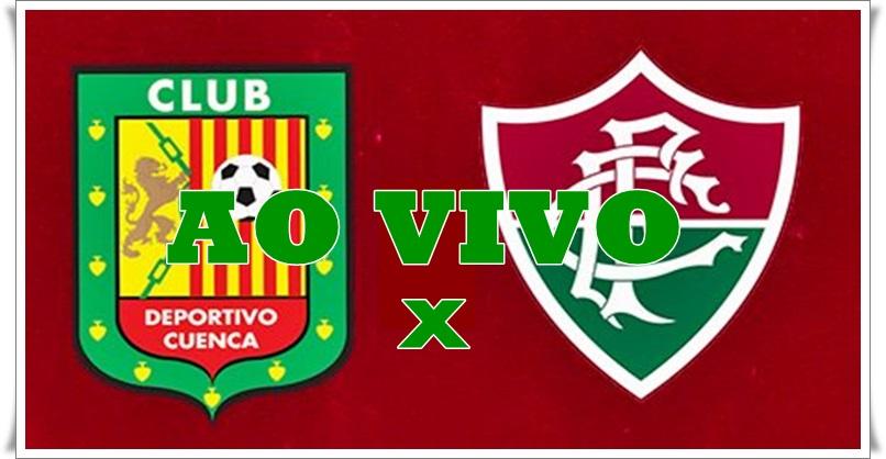 Como assistir o jogo Fluminense x Deportivo Cuenca online e pela TV. Foto/Montagem