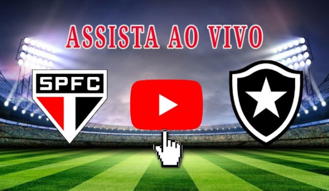 Assista São Paulo x Botafogo ao vivo online - Foto/Divulgação