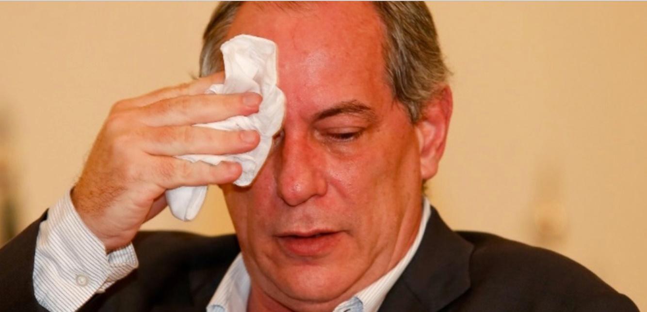 Ciro Gomes passa mal - Foto/Divulgação