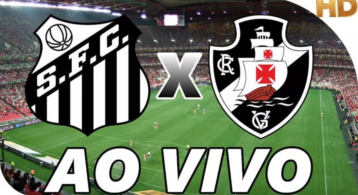 Vasco x Santos ao vivo - Foto/Divulgação