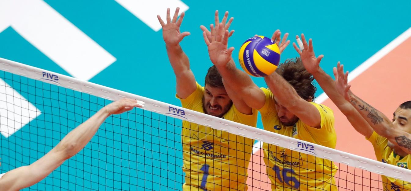 Brasil x EUA ao vivo no mundial de vôlei - Foto/Divulgação