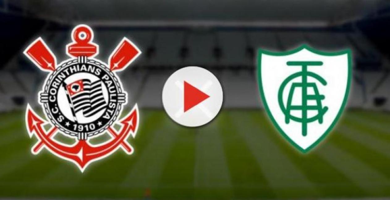 43ca9832a6 América-MG x Corinthians ao vivo  Como assistir ao vivo o Brasileirão