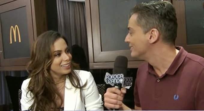 Leo Dias e Anitta. Imagem/Captura