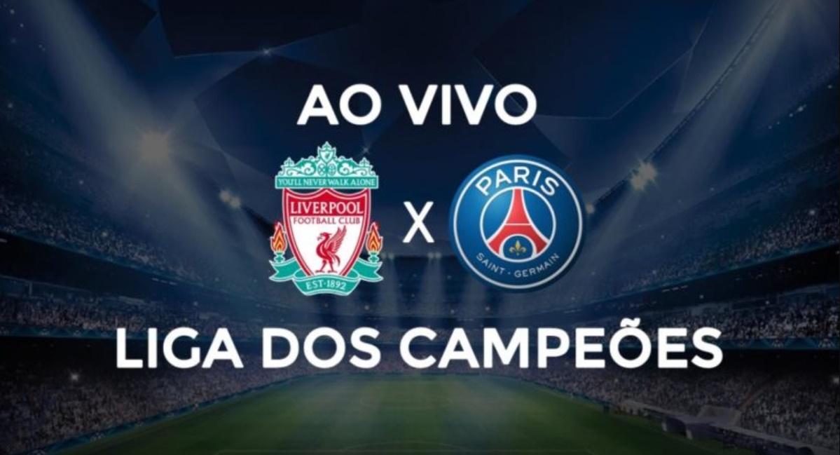 Liverpool x PSG: saiba como assistir ao vivo / Foto/Divulgação