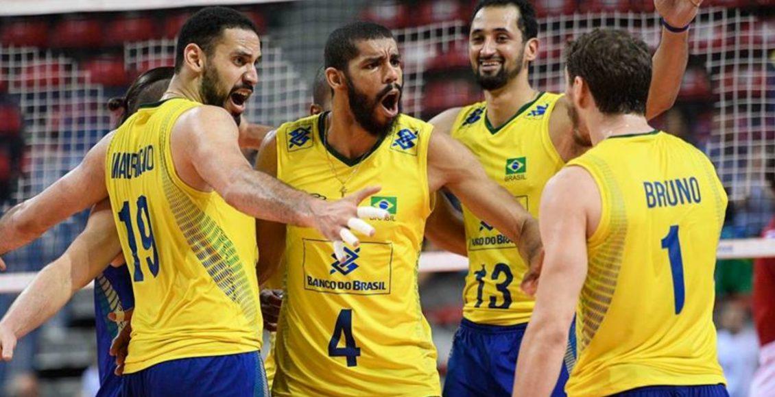 Brasil entra em quadra na Bulgária em estreia no mundial de vôlei – Foto/Reprodução