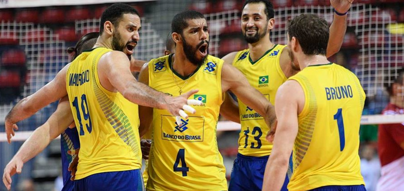 Brasil entra em quadra na Bulgária em estreia no mundial de vôlei - Foto/Reprodução