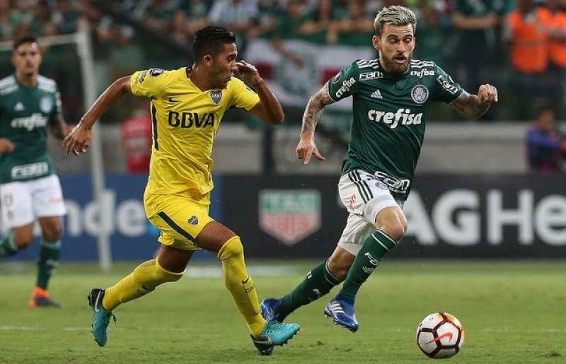 Boca Juniors x Palmeiras jogo ao vivo. Imagem/Reprodução