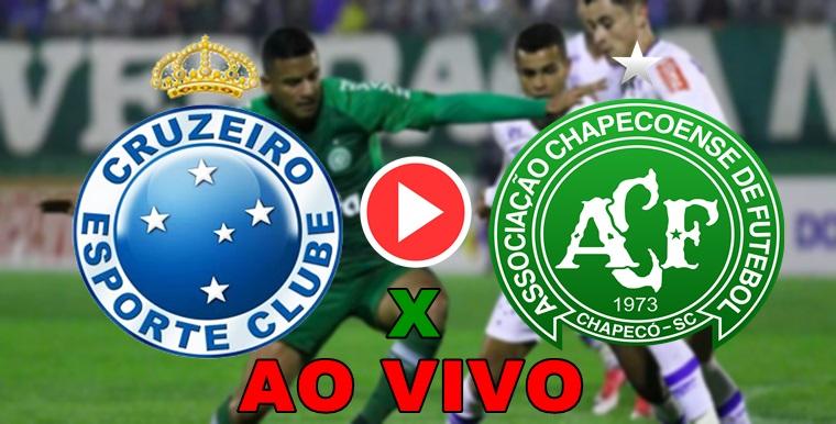Assistir Chapecoense x Cruzeiro AO VIVO. Foto/Montagem
