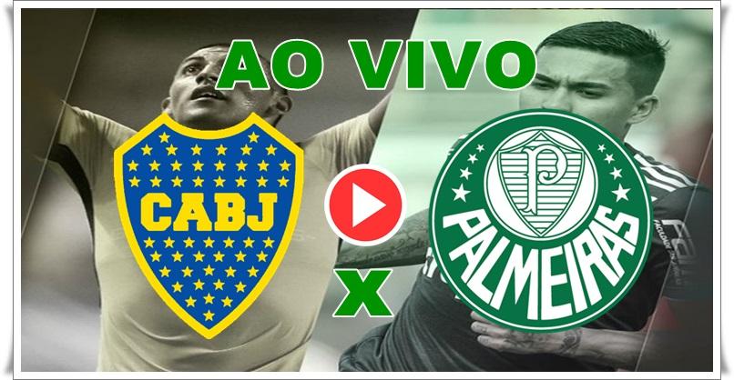Como assistirBoca Juniors x Palmeiras ao vivo pela TV e online. Foto/Montagem