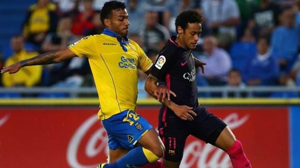Corinthians contrata Michel Macedo, lateral-direito atuava no Las Palmas. foto/Reprodução)