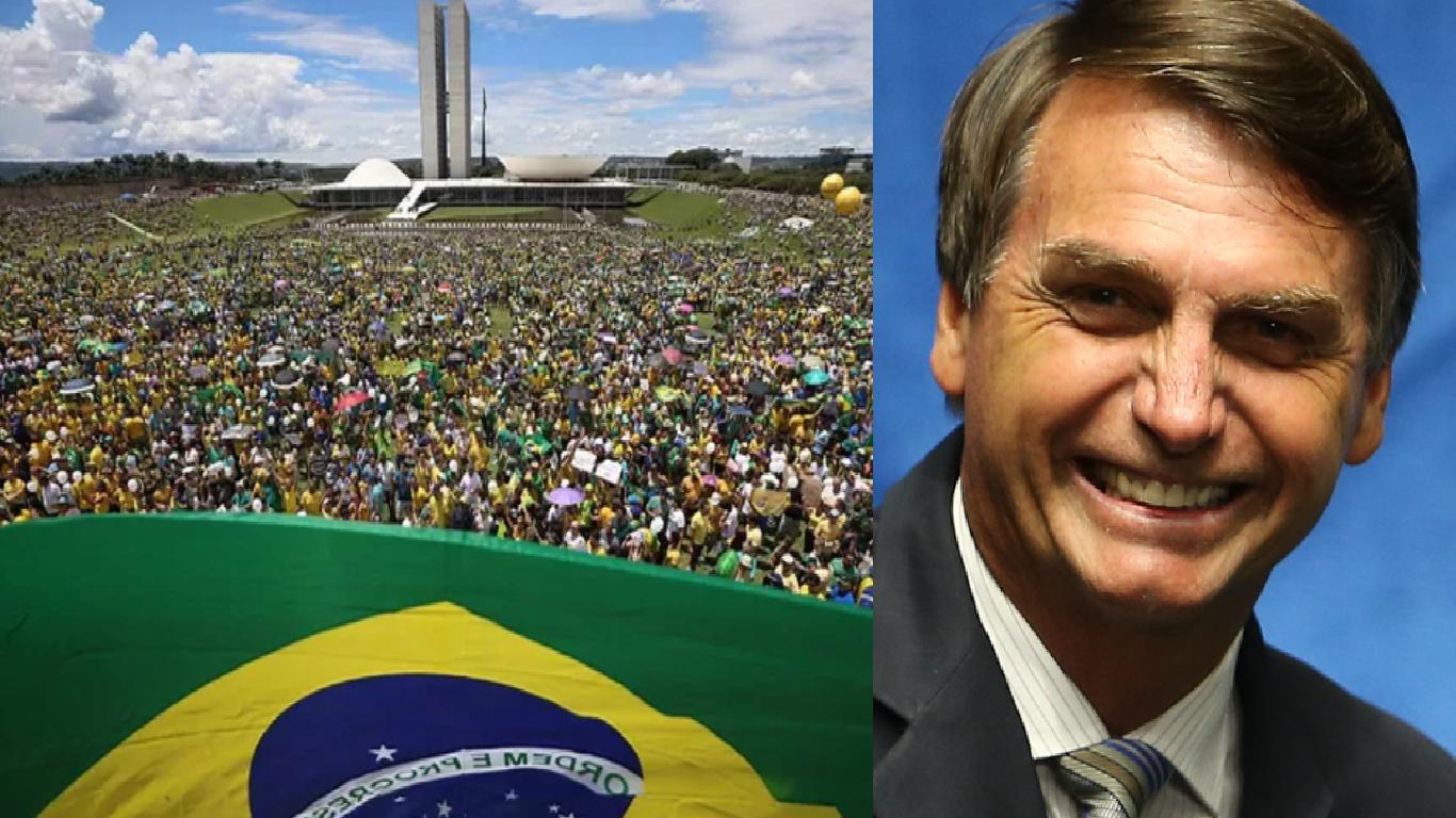 Manifestação a favor de Bolsonaro promete parar o país - Foto/Divulgação