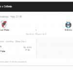 Acompanhe ao vivo o placar de Rivar Plate x Grêmio na semifinal da Libertadores - Foto/Montagem