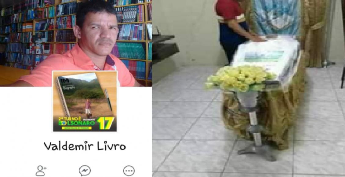 Apoiador de Bolsonaro morre após suposto espancamento por grupo do PT – Foto/Montagem