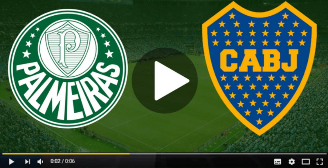 Palmeiras x Boca Juniors ao vivo online – Foto/Divulgação