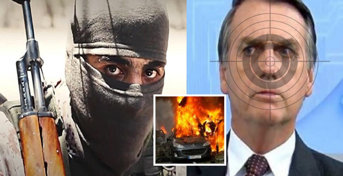 Jair Bolsonaro sofre ameaças terroristas, diz General