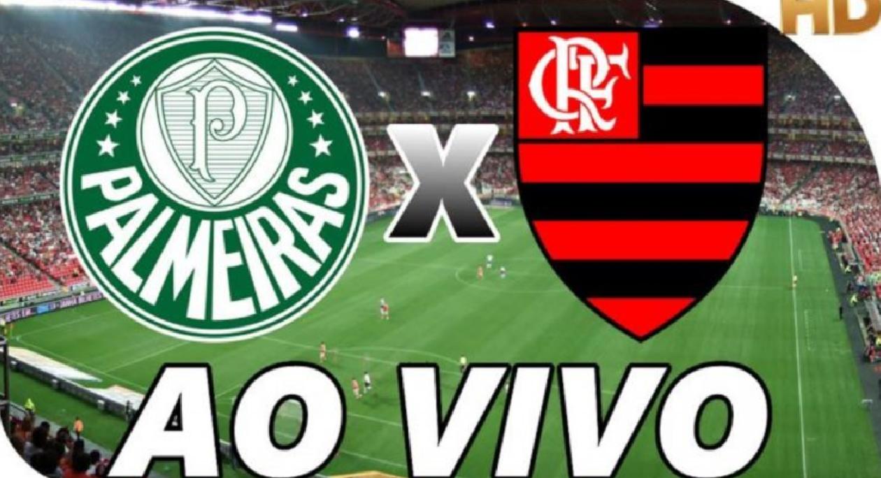 Assista ao vivo Palmeiras x Flamengo na televisão e online - Foto/Montagem