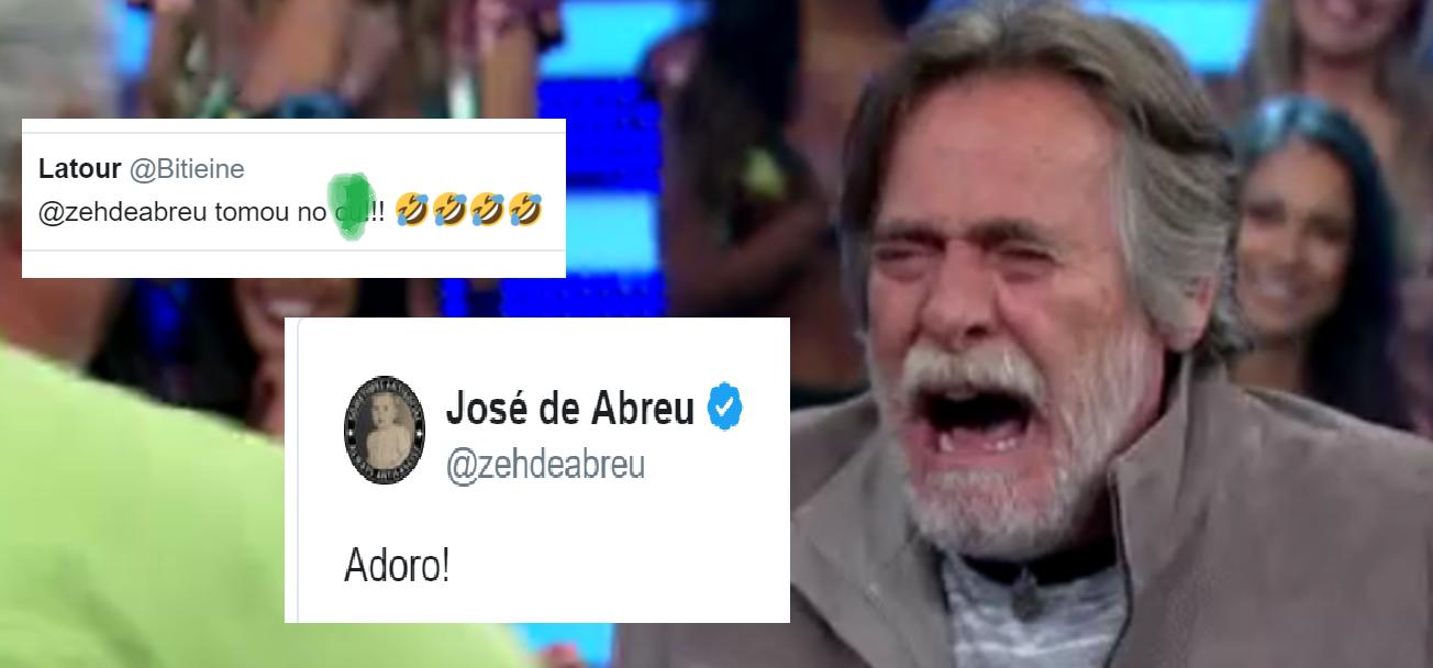 José de Abreu provoca polêmica após internauta dizer que ele tomou naquele lugar - Foto/Divulgação