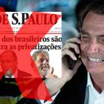 Jair Bolsonaro revela que irá cortar verba publicitária da Folha de São Paulo - Foto/Divulgação