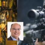 Governador do Rio de Janeiro diz autorizará atiradores de elite a matarem criminosos que tiverem portando fuzis - Foto/Divulgação