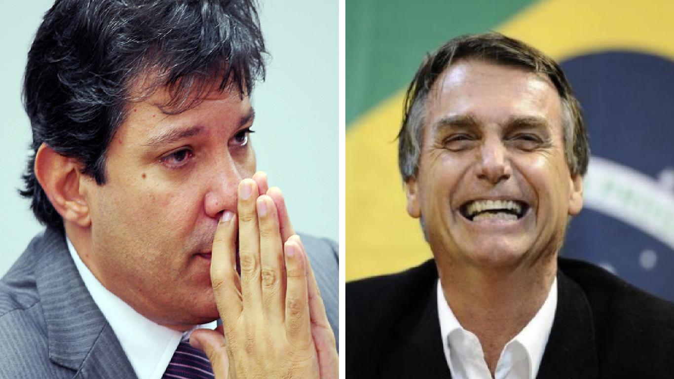 Haddad pede inlegibilidade de Bolsonaro na justiça - Foto/Divulgação