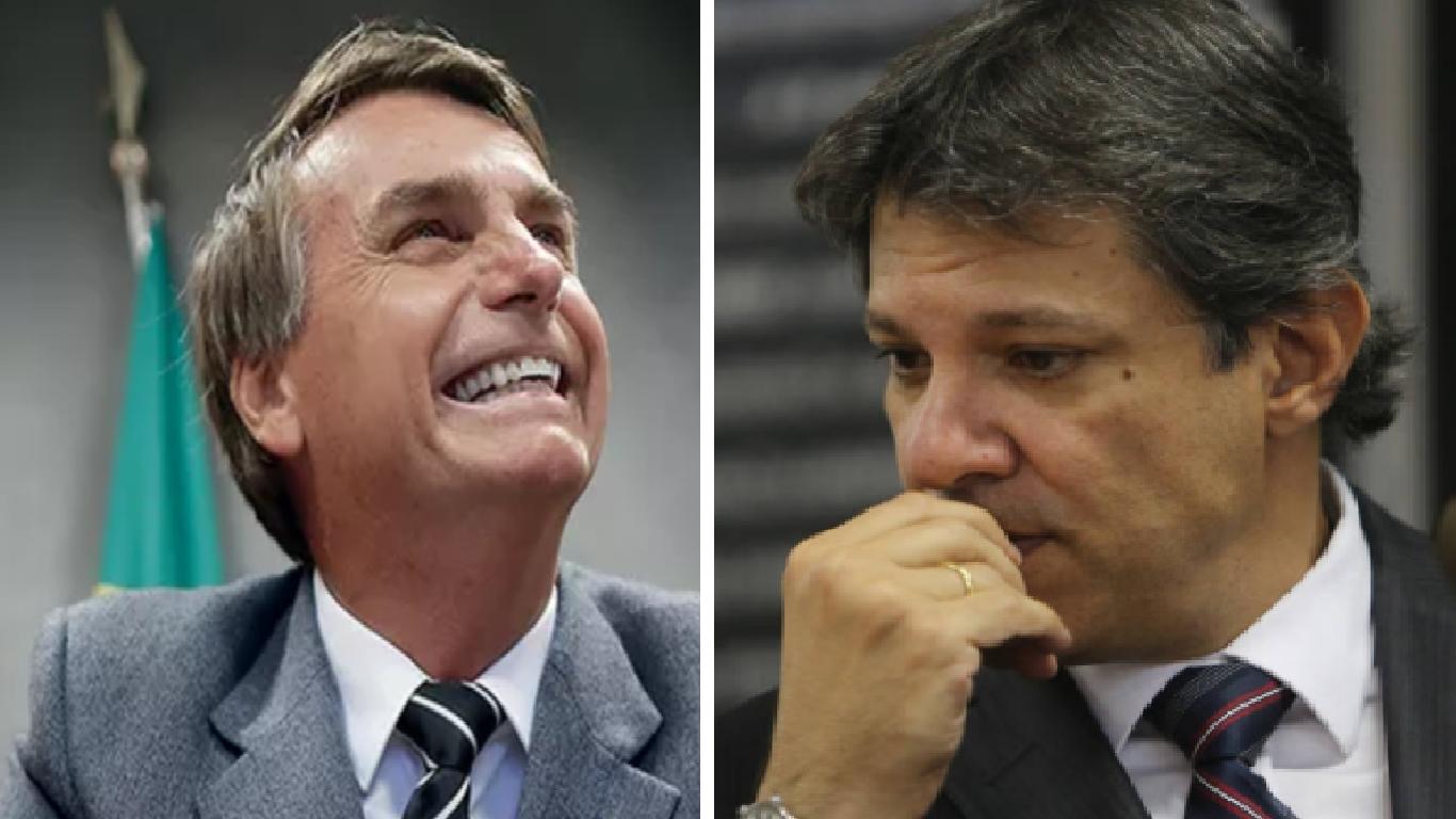 Instituto Paraná mostra Bolsonaro com mais de 60% dos votos válidos - Foto/Divulgação