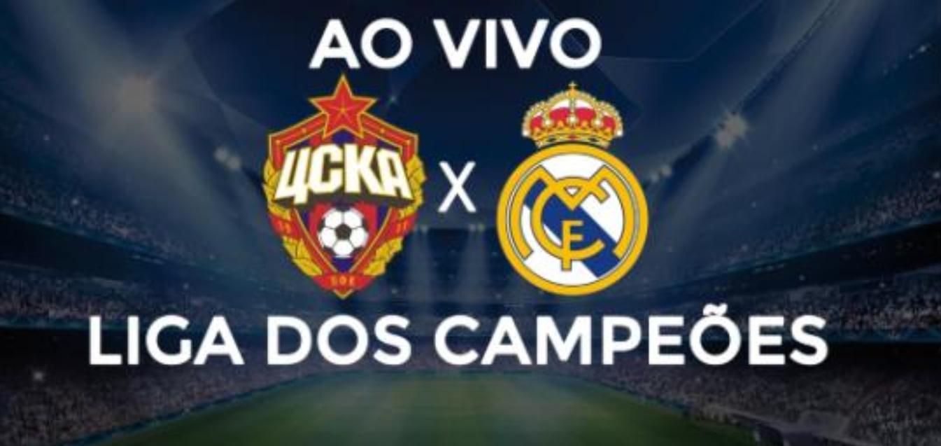 Real Madrid x CSKA ao vivo - Foto/Divulgação