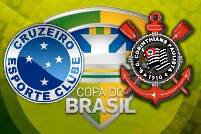 Final da Copa do Brasil: Assista ao vivo Corinthians x Cruzeiro - Foto/Montagem