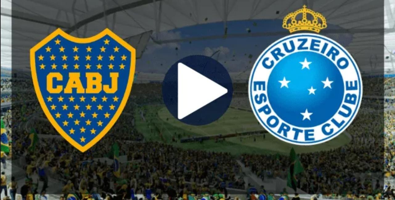 Cruzeiro x Boca Juniors ao vivo - Foto/Reprodução