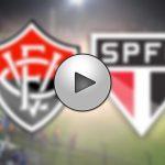 Saiba como assistir São Paulo x Vitória ao vivo online e na televisão - Foto/Montagem
