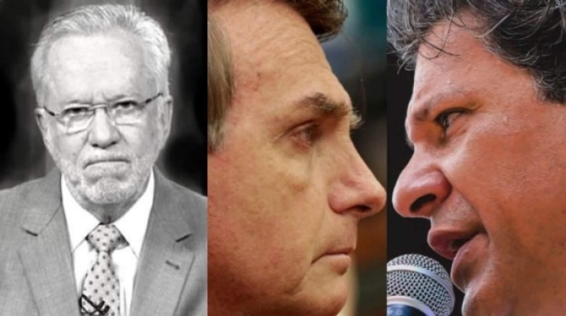 Alexandre Garcia diz que Bolsonaro deve vencer com 60% dos votos - Foto/Reprodução