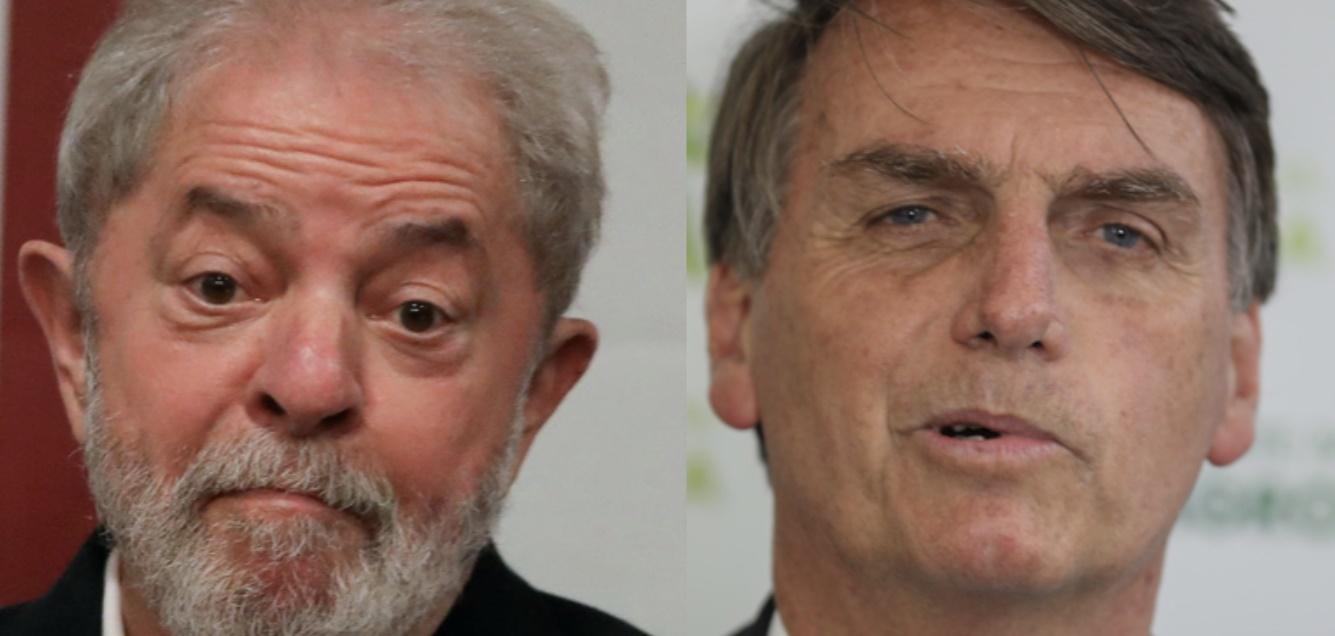 Ex-presidente Lula já admite a vitória de Jair Bolsonaro em corrida presidencial - Foto/Divulgação