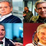 Ministros de Bolsonaro confirmados para seu governo. Foto/Reprodução