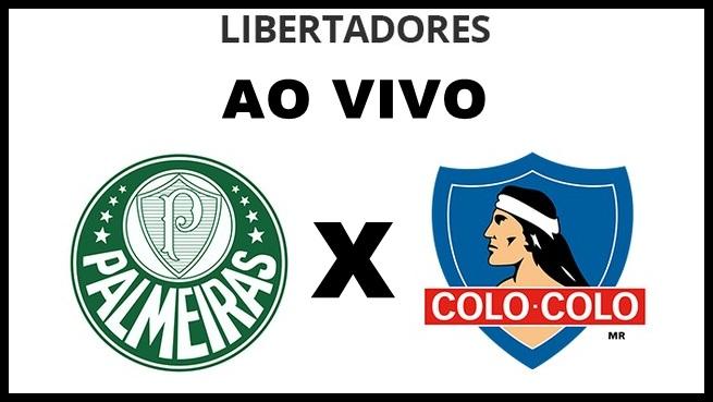 Onde assistir Palmeiras x Colo-Colo jogo dessa quarta-feira. FOTO/MONTAGEM