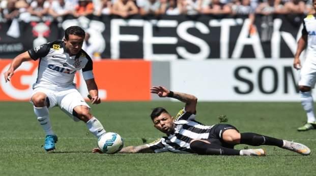 Corinthians x Santos ao vivo online. Foto/Reprodução