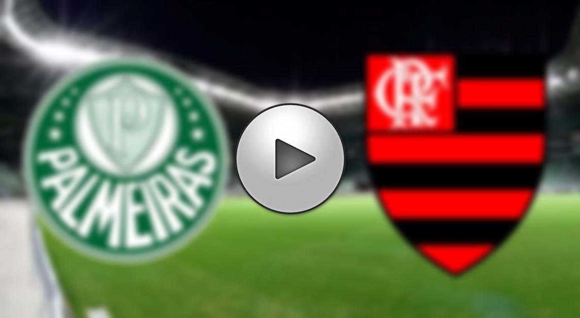 Flamengo x Palmeiras ao vivo online - Foto/Divulgação