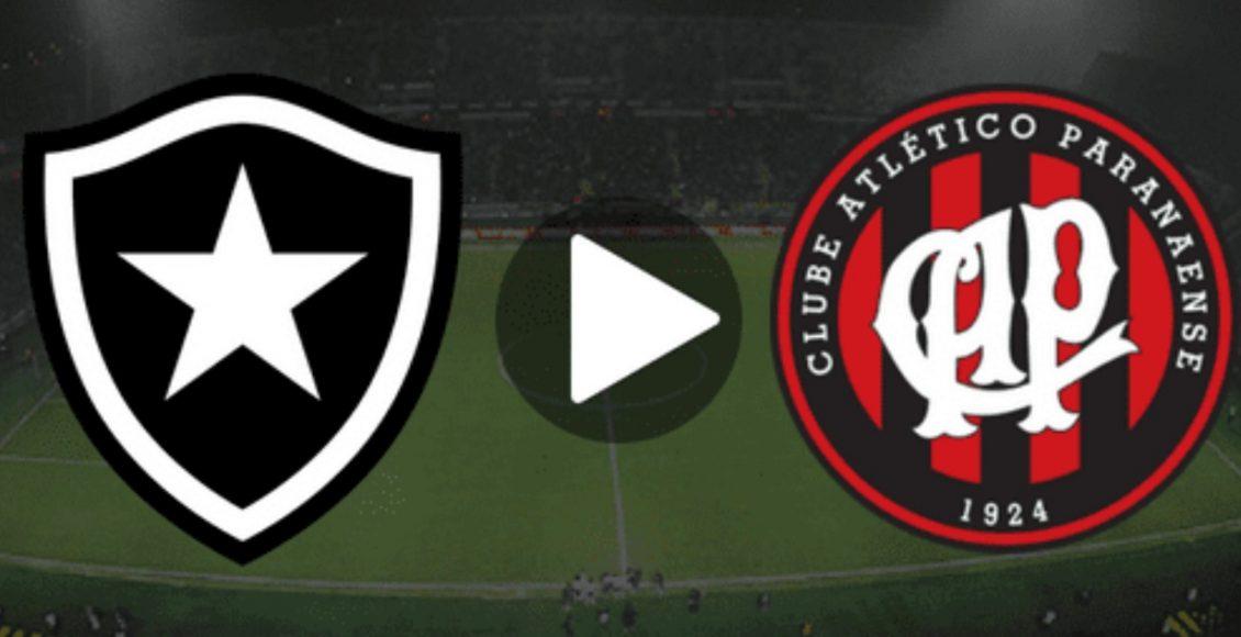 Botafogo x Atlético-PR ao vivo – Foto/Divulgação