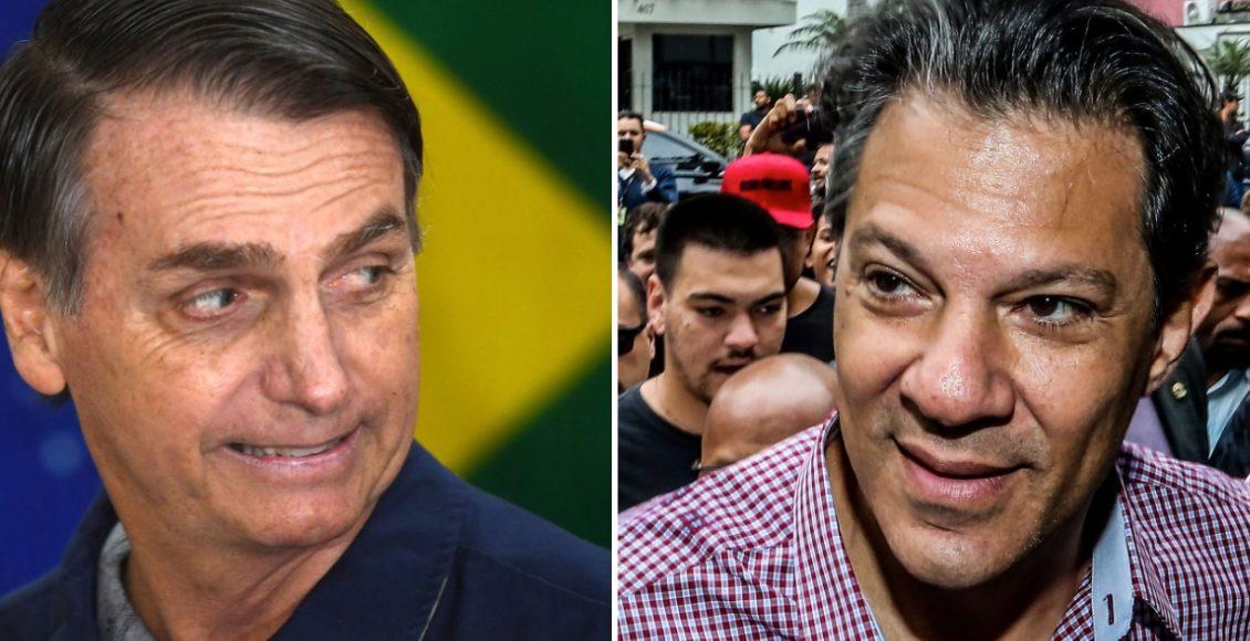 Pesquisa Boca de Urna exibe dados para presidente com Bolsonaro e Haddad  – Foto/Divulgação