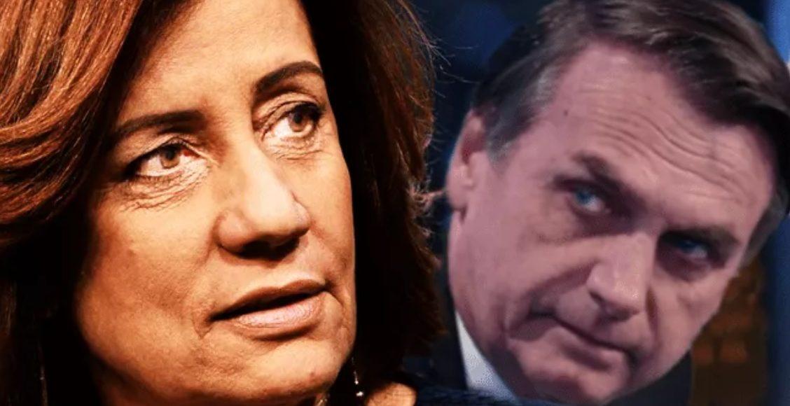 Miriam Leitão não gosta de oração de Bolsonaro e diz que está preocupada com 'estado laico' – Foto/Divulgação