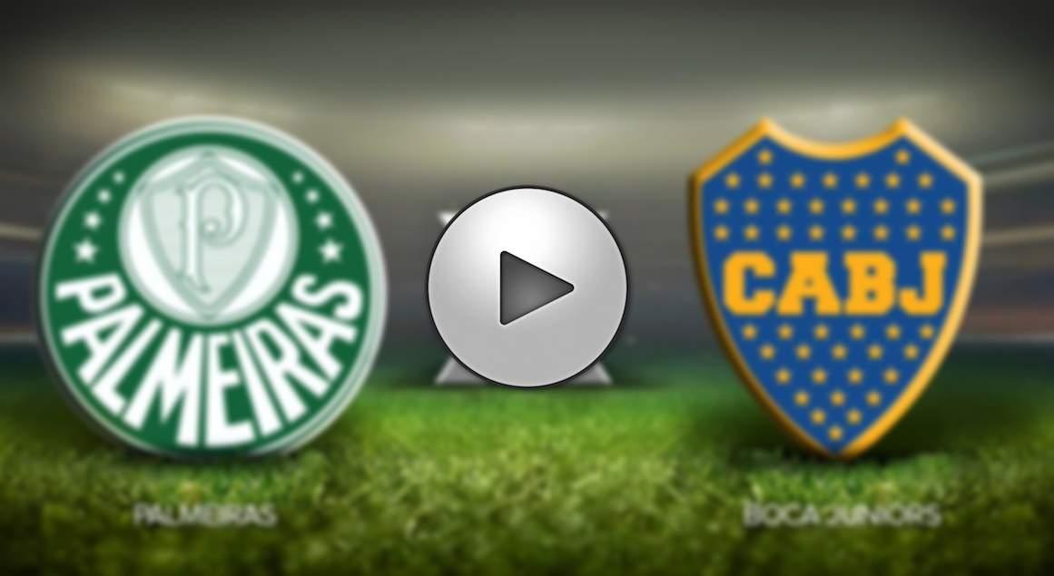 Boca Juniors x Palmeiras ao vivo - Foto/Divulgação
