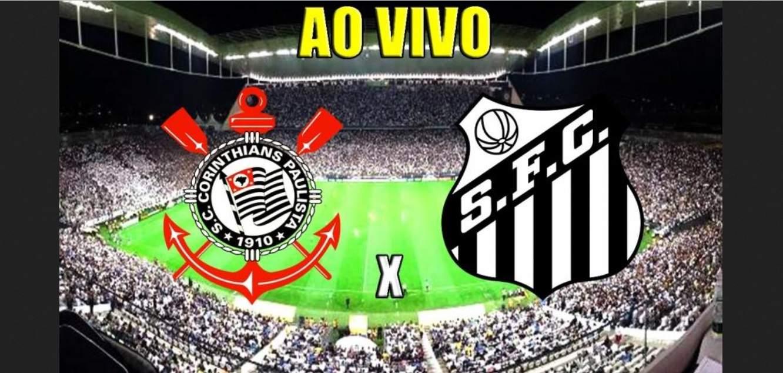 Corinthians x Santos ao vivo online - Foto/Divulgação