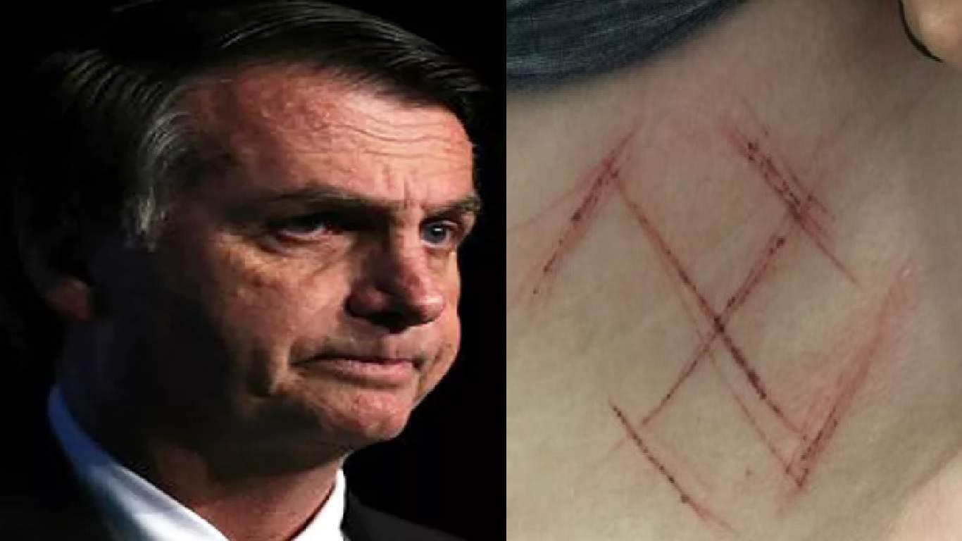 Bolsonaro surpreende ao falar de episódios de violência que usam seu nome - Foto/Montagem