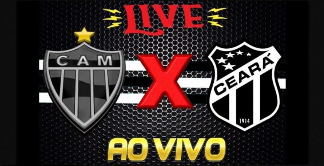 Saiba como assistir Ceará x Atlético-MG  ao vivo online – Foto/Montagem