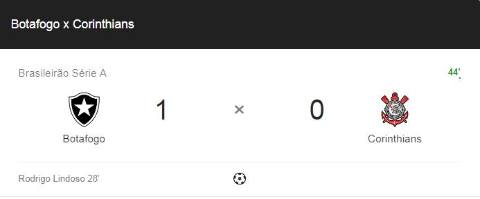 Veja como assistir Botafogo x Corinthians ao vivo. Imagem/Montagem