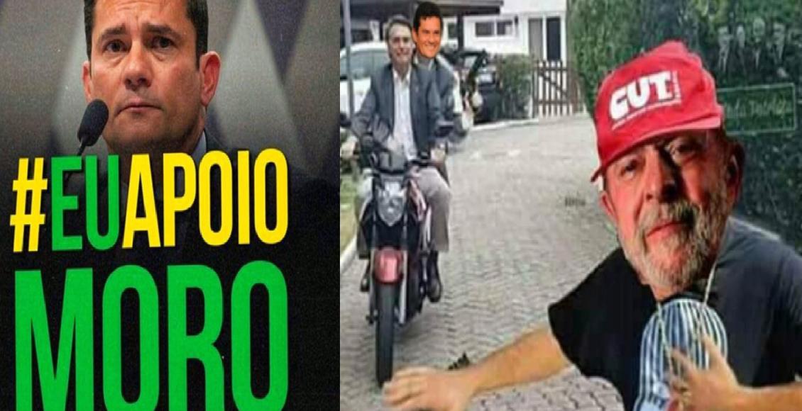 Sérgio Moro é alvo de memes no Twitter, após virar ministro da justiça do governo Bolsonaro – Foto/Divulgação