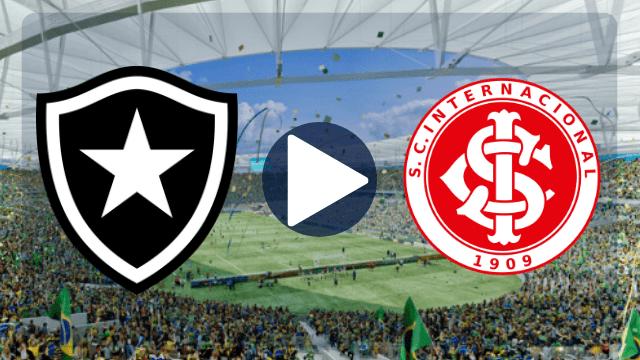 Botafogo x Internacional ao vivo - Foto/Divulgação