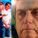 Bolsonaro se ajoelha e chora em culto evangélico no Rio - Foto/Divulgação