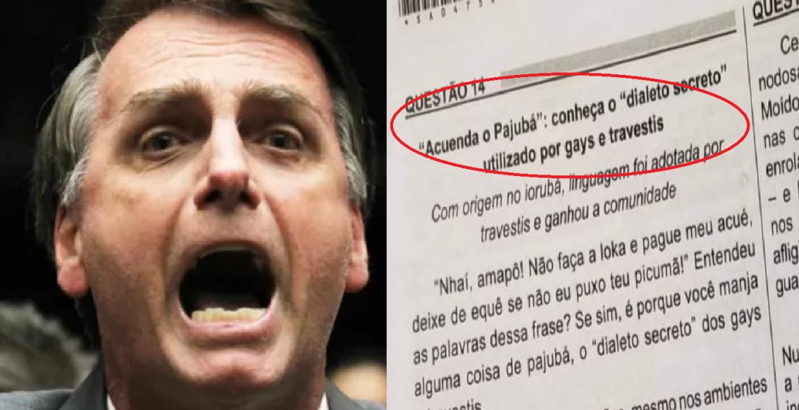 Bolsonaro revela que fará mudanças no Enem – Foto/Divulgação