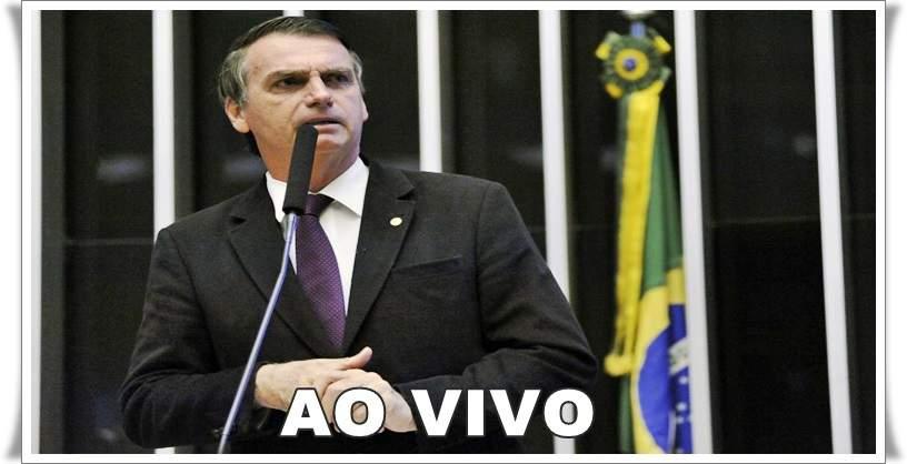 Veja como assistir online Jair Bolsonaro ao vivo no Congresso Nacional.. Foto/Reprodução